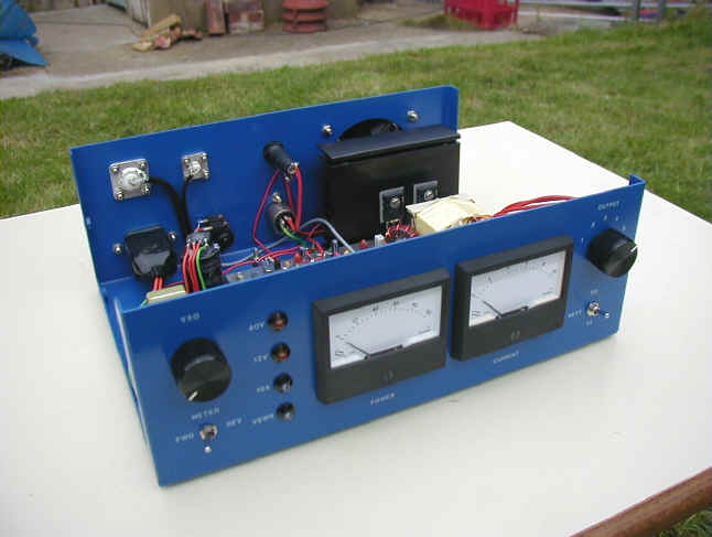 136 kHz Projects - Transmitters - PG1N's HAM Radio Site