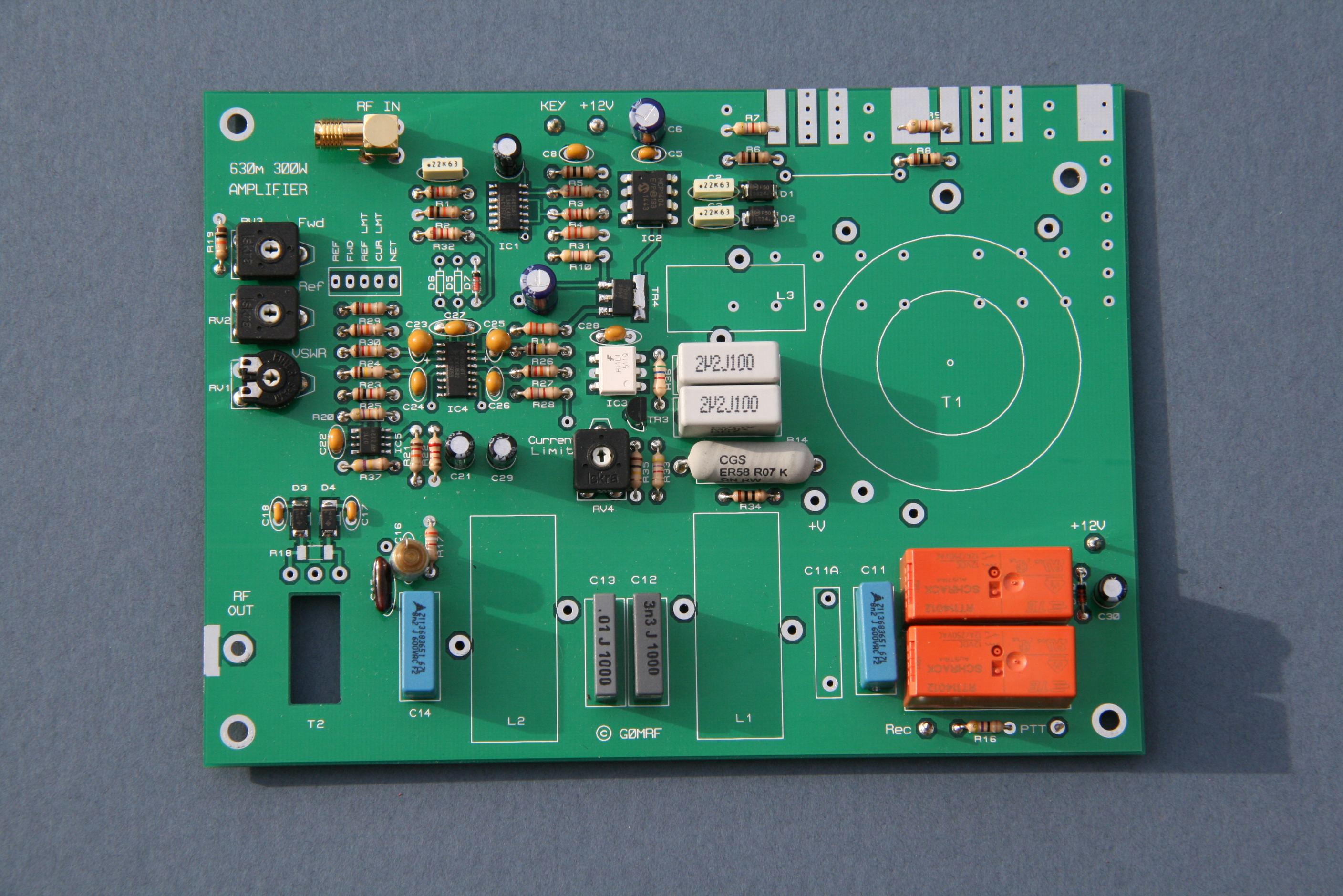 300w Amplifier 630m Class D Circuit Quality For Sale Figure 2 Printed Board Less Inductors Clarity