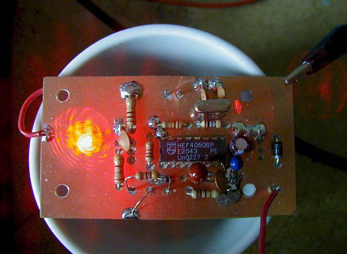 Laser Transmitter Circuit User Prototype On