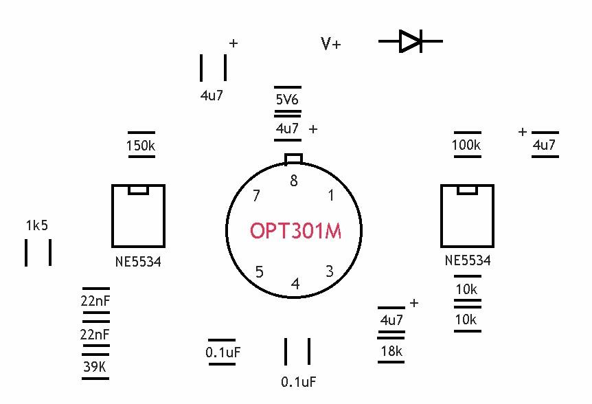 opt301 laser receiver